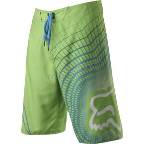 Fox Youth Acid Green V3 Boardshorts - 41014-115-30