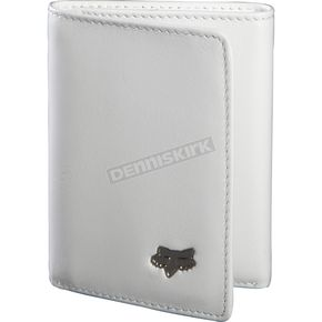 Fox Leather Tri-Fold Wallet - 59016-008-NS