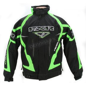 FXR Racing Black/Green Team FX Jacket - 1006