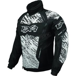 FXR Racing White/Gray Helix Storm Jacket - 2005