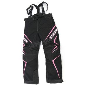 FXR Racing Womens Black/Pink Velocity Pants - 2300.90314