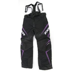 FXR Racing Womens Black/Purple Velocity Pants - 2300.91406