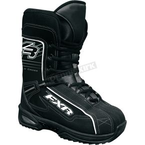 FXR Racing Black/White Cold Cross Boots - 2902