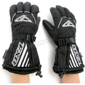FXR Racing Black Fuel Gloves - 2801