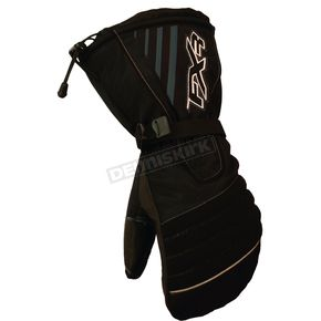 FXR Racing Black/Gray Fuel Mitts - 2802