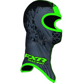 FXR Racing Youth Black/Green Shredder Balaclava - 2712