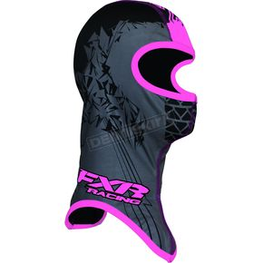FXR Racing Black/Pink Shredder Balaclava - 2712