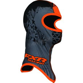 FXR Racing Youth Black/Orange Shredder Balaclava - 2712.30107