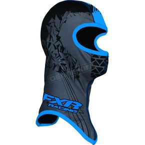 FXR Racing Black/Cyan Shredder Balaclava - 2712.41613