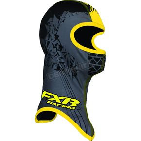 FXR Racing Youth Black/Yellow Shredder Balaclava - 2712