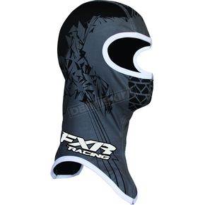 FXR Racing Youth Black/Charcoal Shredder Balaclava - 2712.20307