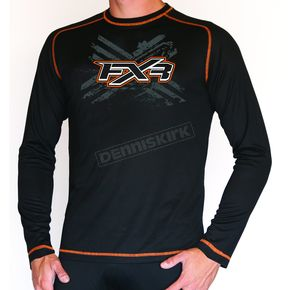 FXR Racing Black Base Shirt - 1607