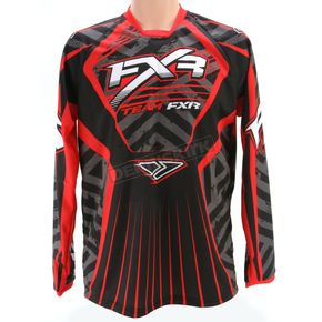 FXR Racing Black/Red Coldcross Jersey - 2617