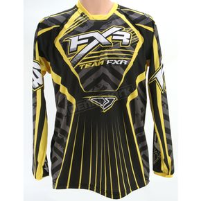 FXR Racing Black/Yellow Coldcross Jersey - 2617