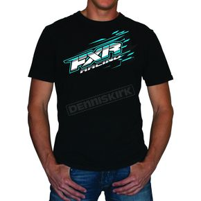 FXR Racing Black/Blue Blast T-Shirt - 2619