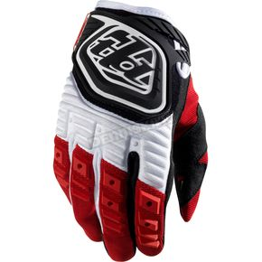 Troy Lee Designs Red/Black GP Gloves - 0621-0308