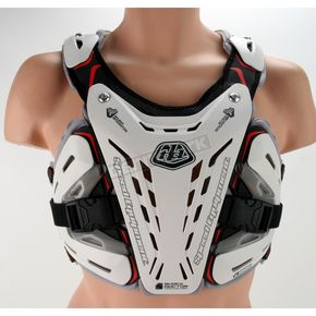 Troy Lee Designs White CP 5900 Chest Protector - 502003106