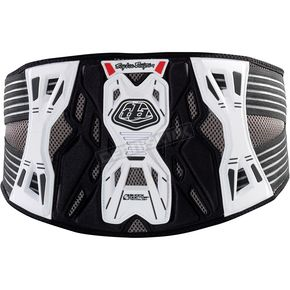 Troy Lee Designs White KB3305 Kidney Belt - 532003107