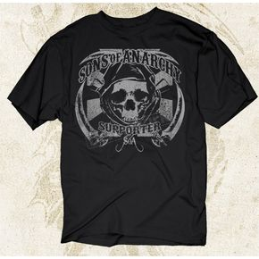 Sons of Anarchy Samcro Supporter T-Shirt - 28-605-48BK-XXL