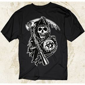 Sons of Anarchy Grim Reaper T-Shirt - 28-605-57BK-XXL