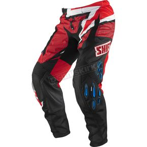 Shift Blue/Red Faction Group S Pants - 04368-149-28