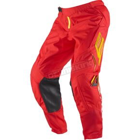 Shift Red/Yellow Strike Zero Pants - 04371-080-28