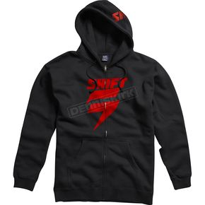 Shift Black/Red Corp Fleece Zip Hoody - 45457-017-M