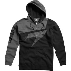 Shift Black/Gray Replica Fleece Zip Hoody - 45460-014-L