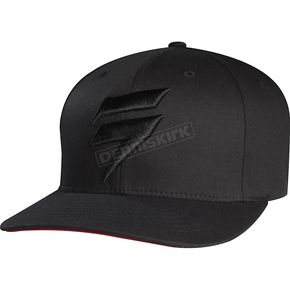 Shift Black Flex-Fit Barbolt Hat - 68298-001-L/XL