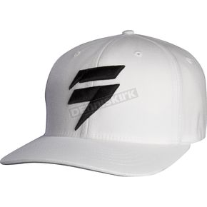 Shift White Flex-Fit Barbolt Hat - 68298