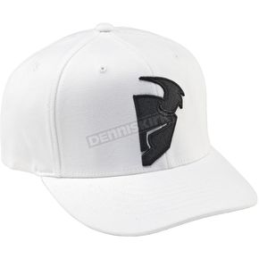 Thor Slider Curved Bill White/Black Hat - 25011228