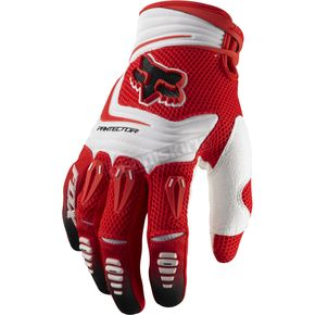 Fox Red Pawtector Gloves - 03228-003-L