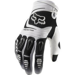 Fox White Pawtector Gloves - 03228-008-XL