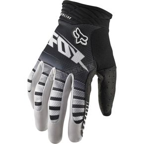 Fox Black Airline Enterprize Gloves - 03233-001-XL