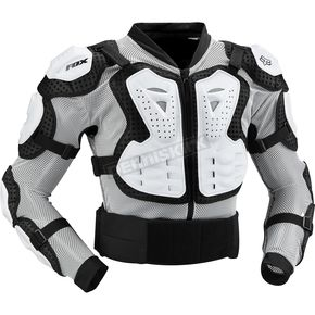 Fox White Titan Sport Jacket - 10050-008-L