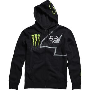 Fox Black Monster RC 4 Zip Hoody - 45366-001