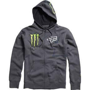 Fox Charcoal Monster RC 4 Zip Hoody - 45366-028
