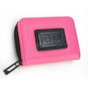 Fox Womens Day Glo Pink Master Class Wallet - 57794