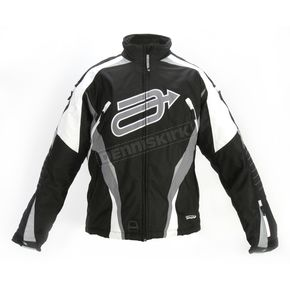 Arctiva Black/Gray Comp 7 Jacket - 3120-0950