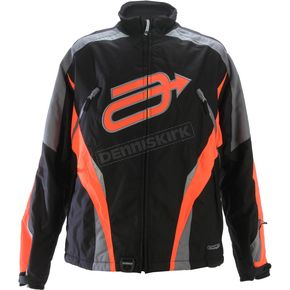 Arctiva Black/Orange Comp 7 Jacket - 3120-0960