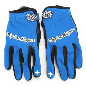 Troy Lee Designs Blue XC Gloves - 0676-0309