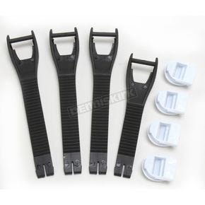 Moose Black M1.2 Boot Strap Kit - 3430-0430