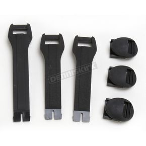 Moose Youth Black Boot Strap Kit - 34300432