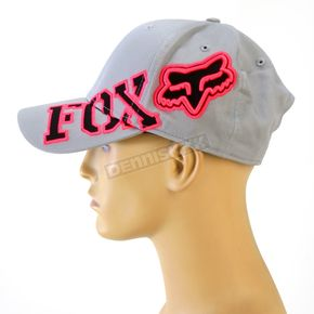 Fox Womens Chrome Tilted Baseball Cap - 01633-010