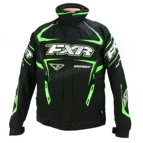 FXR Racing Black/Green Backshift Pro Jacket - 13110