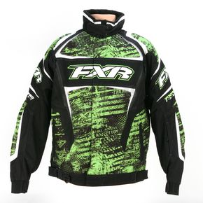 FXR Racing Green Warp Helix Jacket - 13115