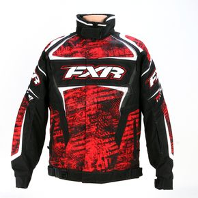 FXR Racing Red Warp Helix Jacket - 13115