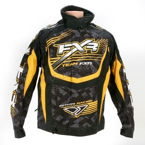 FXR Racing Yellow/Black Strike Cold Cross Jacket - 13125