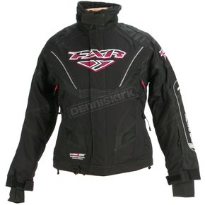 FXR Racing Womens Black Adrenaline X Jacket - 13205