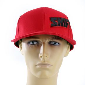 Shift Red Strike All Pro Snapback Hat - 04017-003-OS